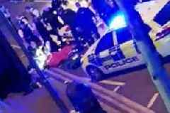 Leyton knife attack: First photo of Essex police officer slashed with machete in late-night attack