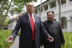 Trump Says He Agrees With North Korean Dictator's Concern Over Joint Military Exercises In South Korea