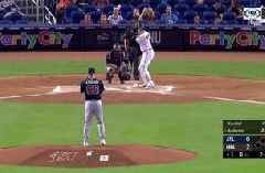 WATCH: Brian Anderson's first career multi home run game leads Marlins past Braves