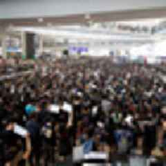 Hong Kong protests shut down airport in biggest disruption yet