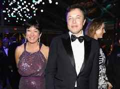 Elon Musk was photographed next to Jeffrey Epstein's alleged madam Ghislaine Maxwell at an Oscars after-party in 2014