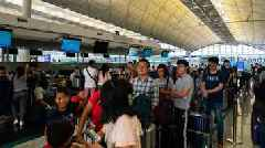 Protests Disrupt Hong Kong Airport Operations For Second Straight Day