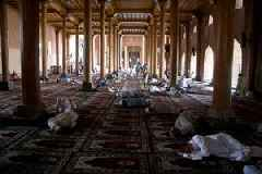 Some Muslims allowed to walk to mosques during Kashmir lockdown