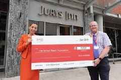 British Heart Foundation boost thanks to Jurys Inn makeover