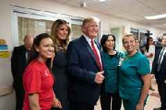 Trump's Photobombs With El Paso Victims Are Worth More Than A Million Words