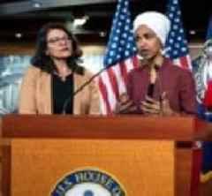Reps Ilhan Omar And Rashida Tlaib Barred From Entering Israel, Outraging Democrats