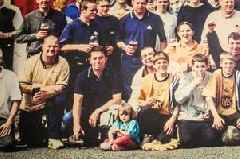 Game of Thrones' Maisie Williams pictured as a young child at hardcore Bristol City fans' Flag Day
