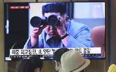 North Korea's Kim Jong-un expresses 'great satisfaction' after test of 'new weapon'