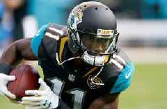 Jaguars receiver Marqise Lee gets back on practice field for first time in nearly a year