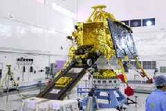 India's lunar mission enters the Moon's orbit ahead of landing attempt