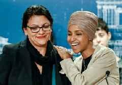 Ilhan Omar, Rashida Tlaib respond to Palestinian LGBTQ ban on Twitter