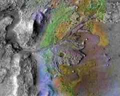 Ancient Mars was warm with occasional rain, turning cold