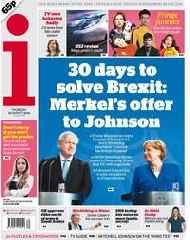 Boris Johnson : the 30-day spin