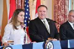 Pompeo: US focused on helping detained Canadians in China