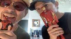 Robert Downey Jr. and Tom Holland Reunite Amid Marvel-Sony Spider-Man Feud