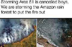 18 Memes About The Amazon Rainforest Burning Down