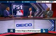 MLB on FOX pregame crew preview Dodgers vs Yankees