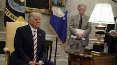 President Trump Says John Bolton 'No Longer Needed' At The White House