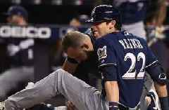 Christian Yelich to miss remainder of Brewers season with fractured right knee cap