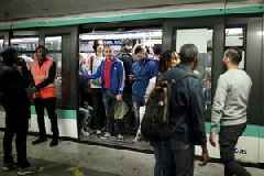 Paris at a standstill as metro workers strike over pension reform