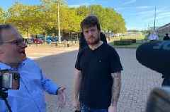 Tommy Robinson released from maximum security prison two months after being jailed