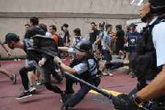 Hong Kong enters 15th week of mass protests as unrest continues