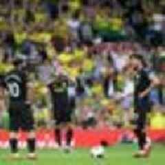 Football: Depleted Norwich stun Manchester City in English Premier League