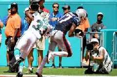 Dolphins can't contain Patriots as Antonio Brown scores in debut