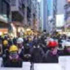 Hong Kong Protests: Protester's 'hopeless' last stand has begun