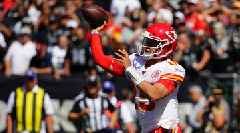 Chiefs' Patrick Mahomes Had Insane Second Quarter vs. Raiders