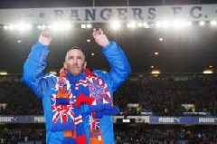 Leicester City striker Jamie Vardy pays tribute to Fernando Ricksen