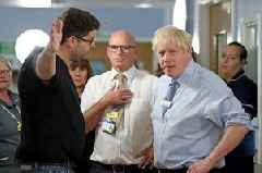 Boris Johnson confronted by furious dad of sick child over state of NHS