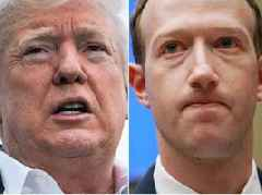 Trump confirmed he met with Facebook CEO Mark Zuckerberg in a weirdly lukewarm tweet