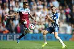West Ham key man an injury doubt for Manchester United clash on Sunday