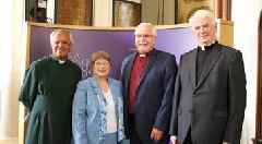 Bishop hailed as a 'man of vision' retires