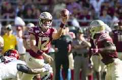 Akers, Hornibrook lead Florida St. past Louisville