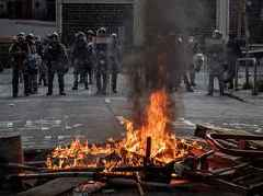Hong Kong protests: Chinese flag desecrated as riot police fire tear gas in 16th straight ...