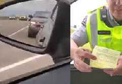 WWE Wrestler Lacey Evans Apparently Stays in Character as She Receives a Ticket in Canada