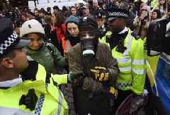 More than 130 Extinction Rebellion activists arrested in London as global protests begin