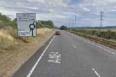 Driver 'barely missed' pedestrians during 100mph police chase