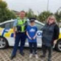 Police seek 'hero truck driver' who helped 10-year-old stop car crash