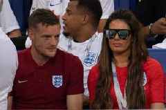 Jamie Vardy gives public show of support to wife Rebekah in Coleen Rooney row