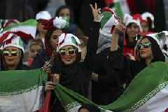 Iranian Women Cheer In Football Stadiums For The First Time In Decades