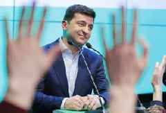 Ukraine president says 'no blackmail' in conversation with Trump