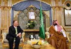 Top Saudi officials hold talks with U.S. state, defense secretaries