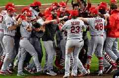 First-inning barrage buries Braves in Cardinals' NLDS win