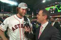 Gerrit Cole on the Astros' Game 5 win of the ALDS