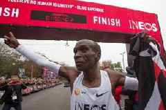 Eliud Kipchoge's historic sub-two hour run will not count as official marathon record