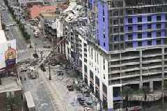 Hard Rock Hotel building collapses in New Orleans leaving one dead