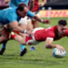 2019 Rugby World Cup: Wales beat Uruguay to confirm two quarter-final clashes